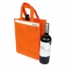 Non Woven 2 Bottle Bag 164683 ## Orange