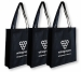 Non Woven Bag with large gusset 319699 ## Black