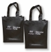 Non Woven Bag with large gusset 319703 ## Black - White
