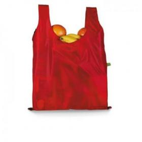 Shopping bag in pouch