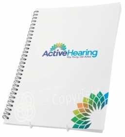 Active Hearing  Pads Notebooks