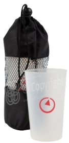 Alcatel Cups and bag
