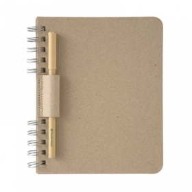 Recycled Cardboard Note Book
