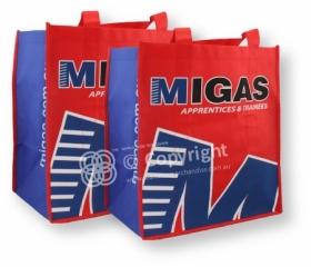 Non Woven Shopping Bag - 2 colour all over print