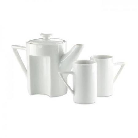 Tea set w/ 2 small tall cups