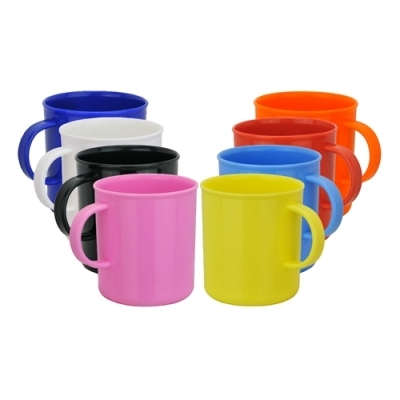 Azure Plastic Mug