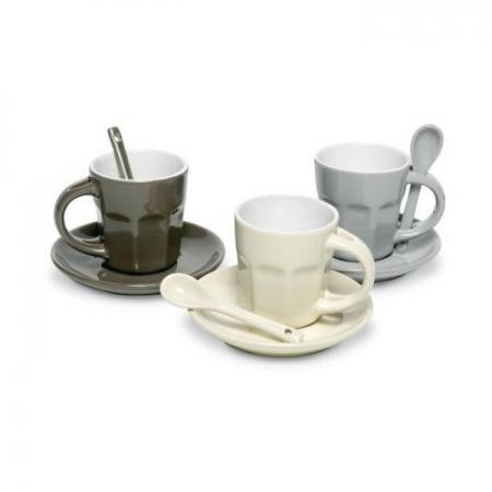 4 piece ceramic coffee set