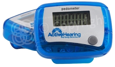 Active Hearing Pedometer