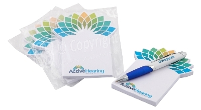 Active Hearing Custom Post it Note