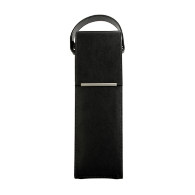 Stirling Single Leather Wine Carrier