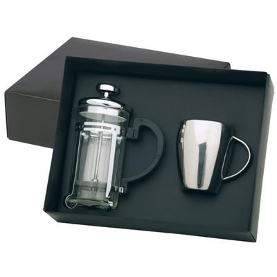 S/S Coffee Mug & Plunger Set