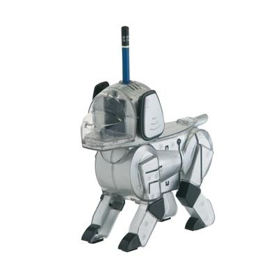 The Robot Dog Pencil Sharpener
