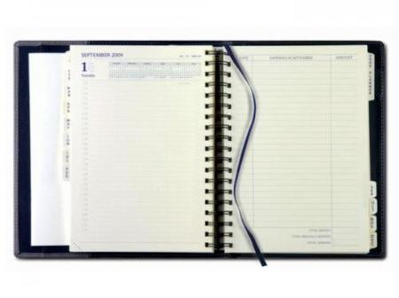 Desk_Diary and Twinlux Coram Cover