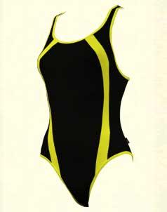 Ladies  Racer - Swimmers 1-piece