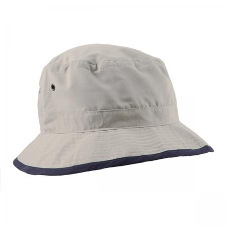 Microfibre Bucket Hat Contrast