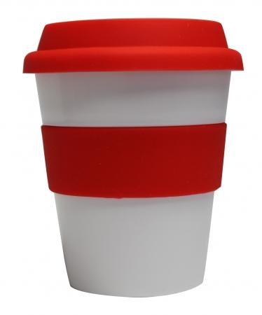 Grab N Go Coffee Cup Large 16oz-16oz whitered