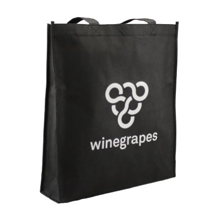 Winegrapes Non Woven Shopping Bag