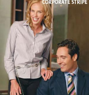 Ladies Corporate Stripe
