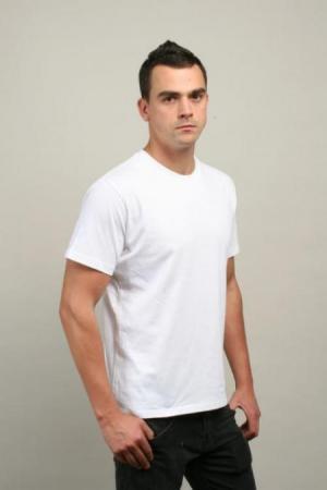 MENS SURF TEE - WHITE