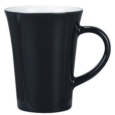 Vancouver Black/White Coffee Mug