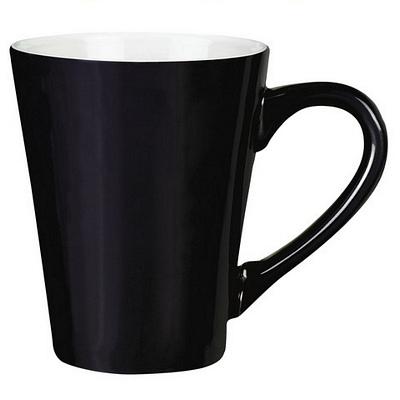 Havana Black/White Coffee Mug Matte
