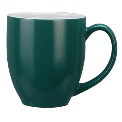 Manhattan Green/White Coffee Mug