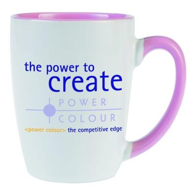 Carnivale White/Pink Coffee Mug