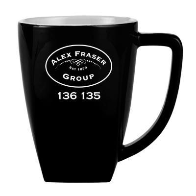 Morocco Black/White Coffee Mug