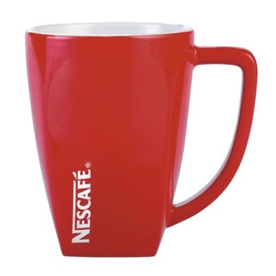 Morocco Red/White Coffee Mug