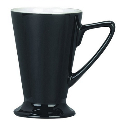 Venice Black/White Coffee Mug