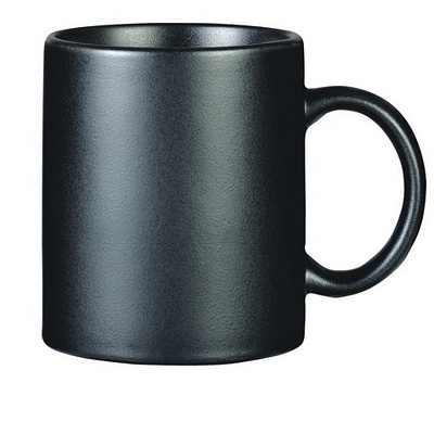 Colonial Black Coffee Mug Matte