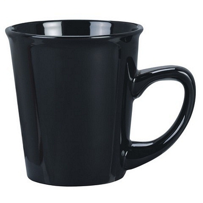 Vienna Black Coffee Mug