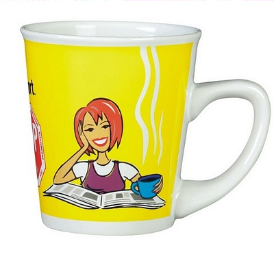 Vienna White Coffee Mug