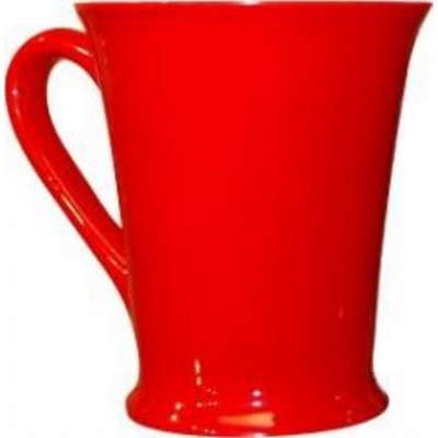Verona Red/White Coffee Mug