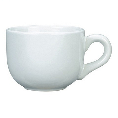 Soho White Coffee Mug