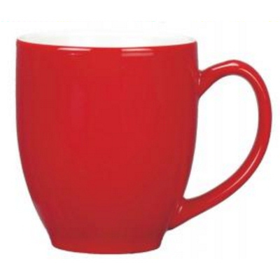 Manhattan Red/White Coffee Mug