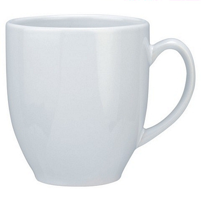 Manhattan White Coffee Mug