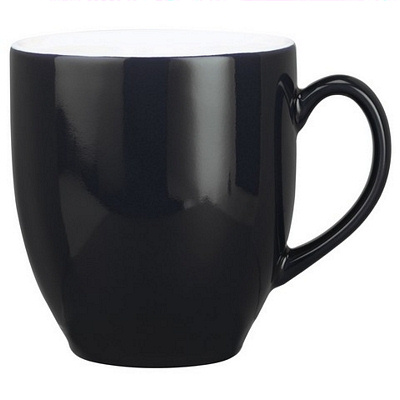 Broadway Black/White Coffee Mug