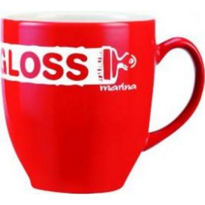 Broadway Red/White Coffee Mug