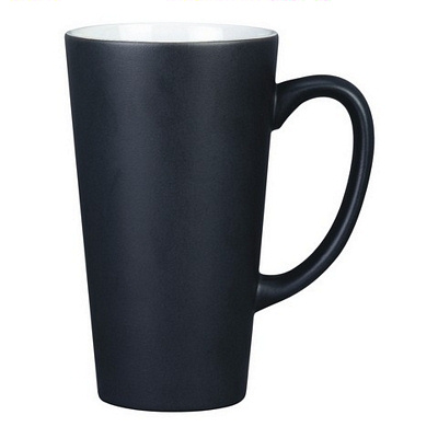 Everest Black/White Coffee Mug Matte