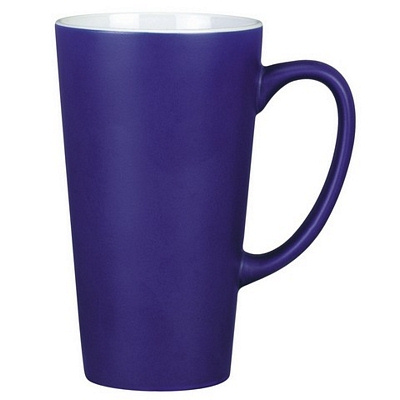 Everest Cobalt/White Coffee Mug Matte