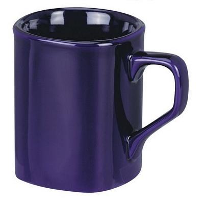 Square Cobalt Coffee Mug