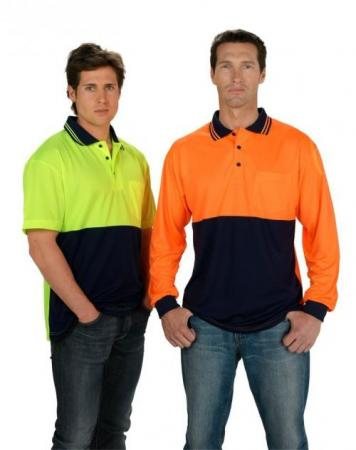 Fluoro Short Sleeve Polo