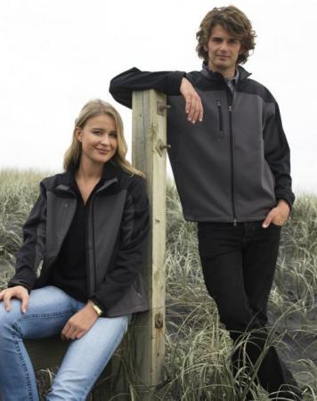 Ladies BIZTECH Contrast Soft Shell Jacket