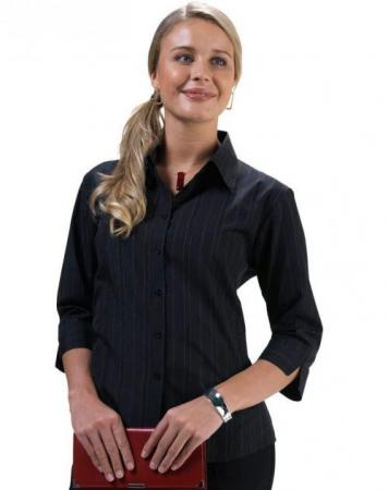 Ladies New Yorker 3/4 Sleeve Shirt