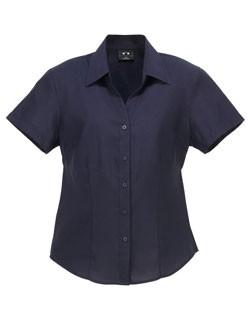 Ladies Plain BIZCOMFORTCOOL Oasis Short Sleeve Shi