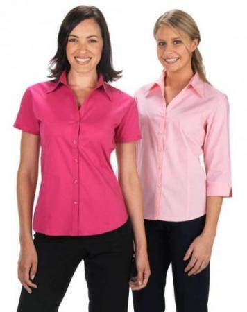 Ladies Short Sleeve Metro Stretch Shirt