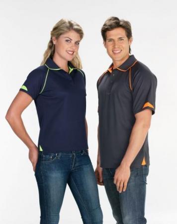 Mens Fusion Cotton Backed Polo