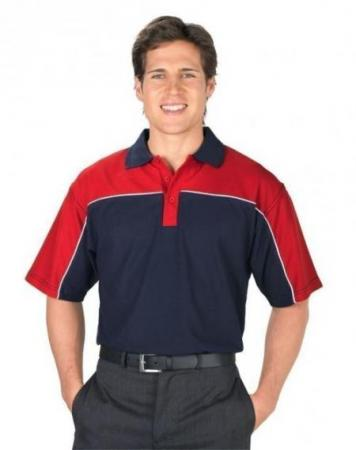 Contrast Polo With Piping