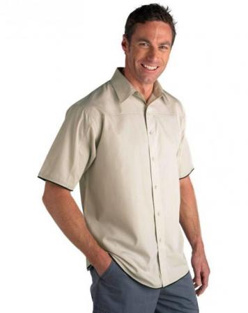 Mens Short Sleeve Contemporary Shirt